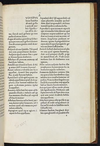 Festus, Sextus Pompeius: De verborum significatione - Acquisition note