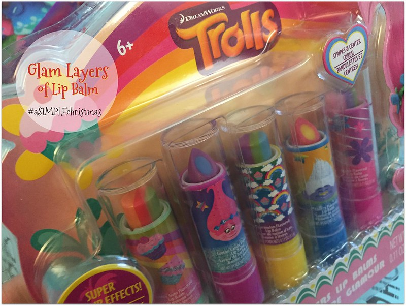 glam layers of lip balm