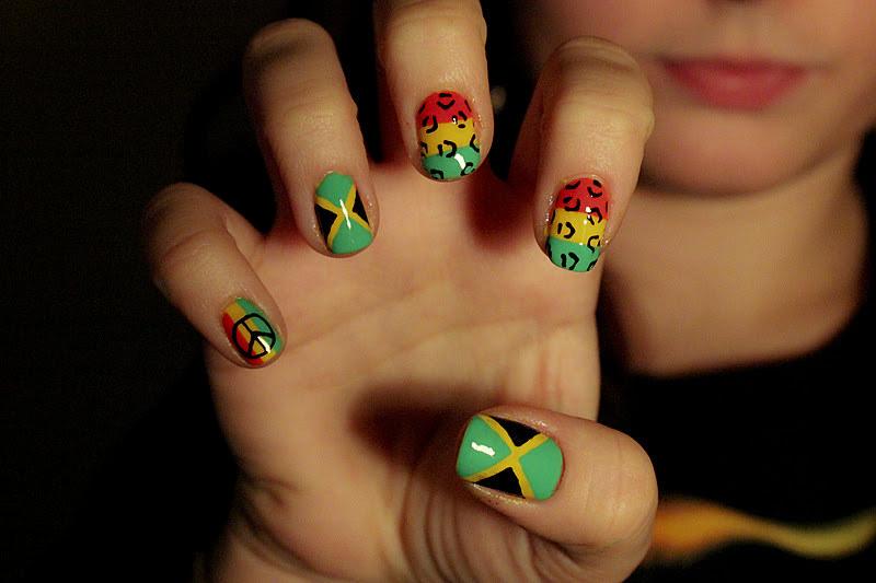 Jamaican Nails Designs | via Nail Designs Blog ift.tt/1Nxael… | Flickr