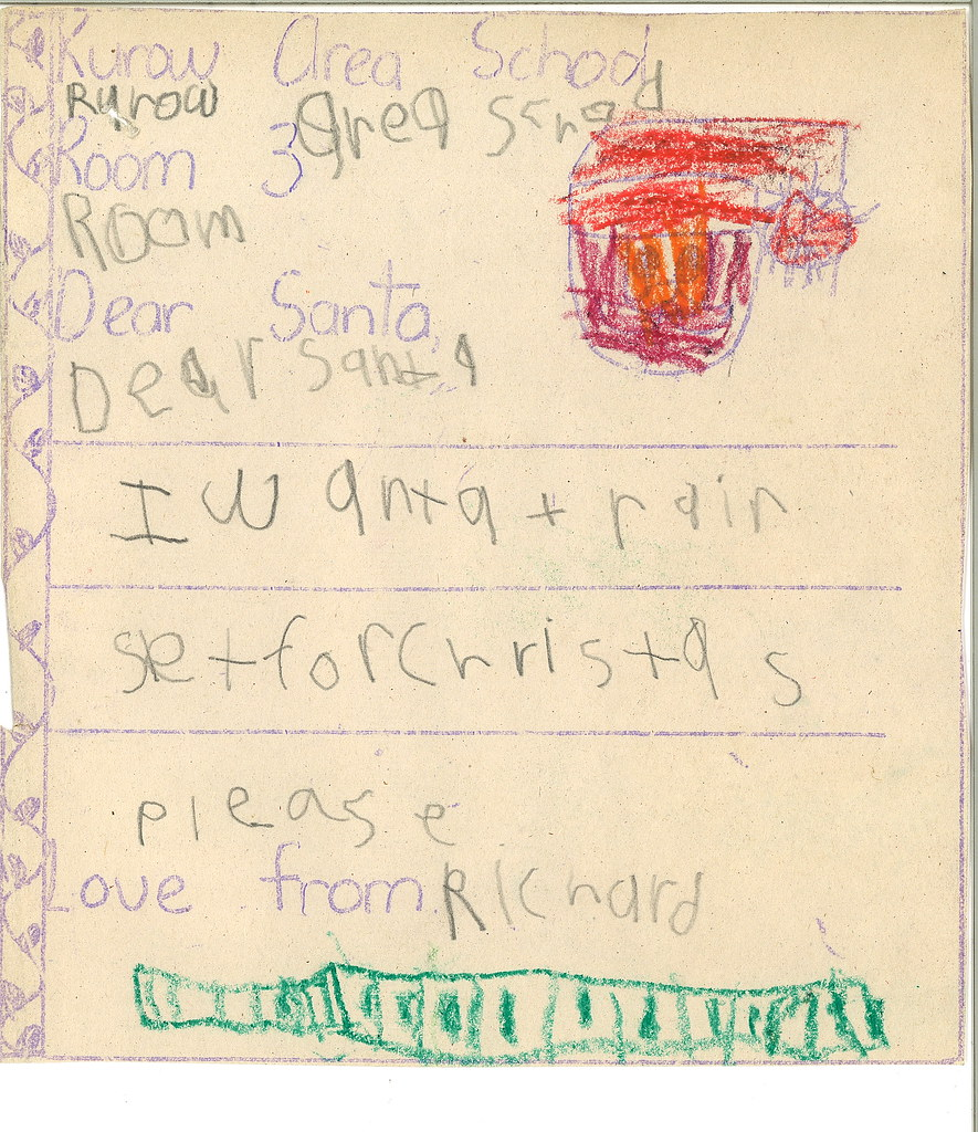 letter to santa this item was transferred to our dunedin o flickr