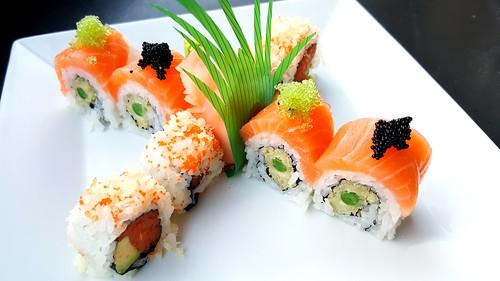 Salmon and Asparagus, Tuna
