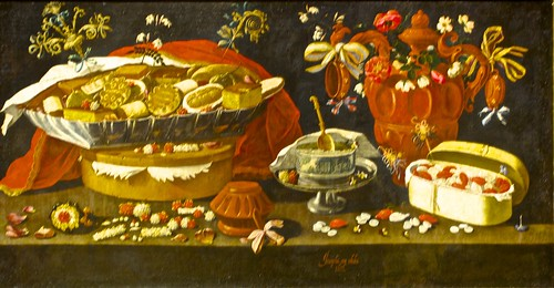 Still life with sweets and pottery (1676) - Josepha de Óbidos ( 1630 - 1684) | by pedrosimoes7