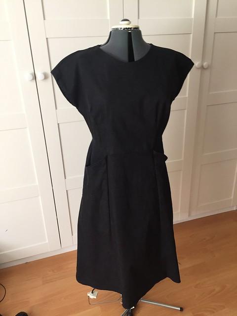 another dark denim dress