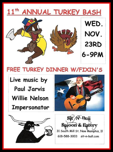 Sit N bull Turkey Bash 11-23-16