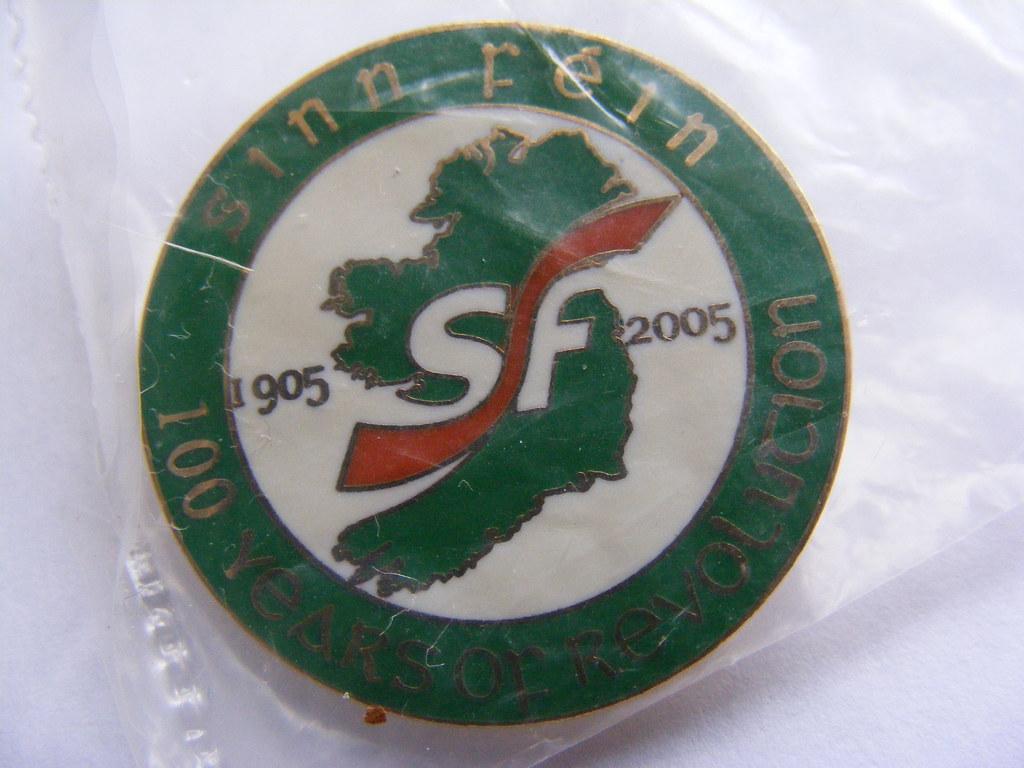 Sinn Fein Irish Republican Badge Nina Sen Feenan Flickr