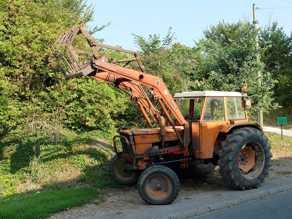tracteur someca 750 avec fourche faucheux by xavnco2