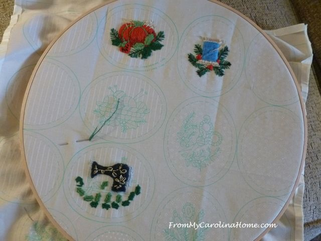 Ornament Stitching 1