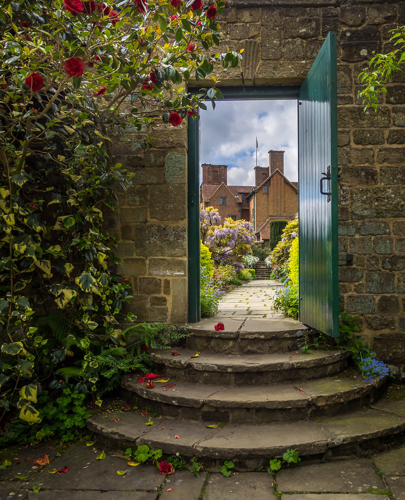 Chartwell through the Garden Gate, Kent | Chartwell is Winst… | Flickr