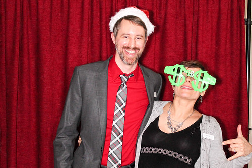 Holiday party photo booth. | by Famous the Cat
