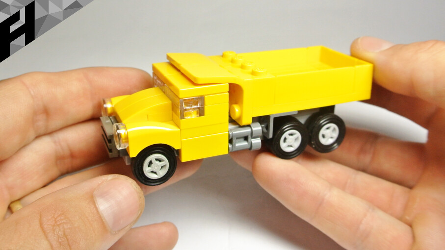 How To Build The Dumper Truck Lego Toy Yoututydvu Ox