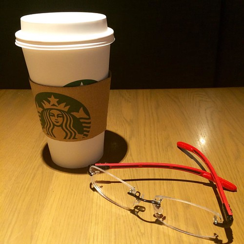 Back to the Grind. #DoTheWork #raybans #starbuckscoffee | by Yam Manuel