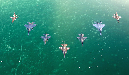 Thriving over the DeadSea | by Israeli Air Force