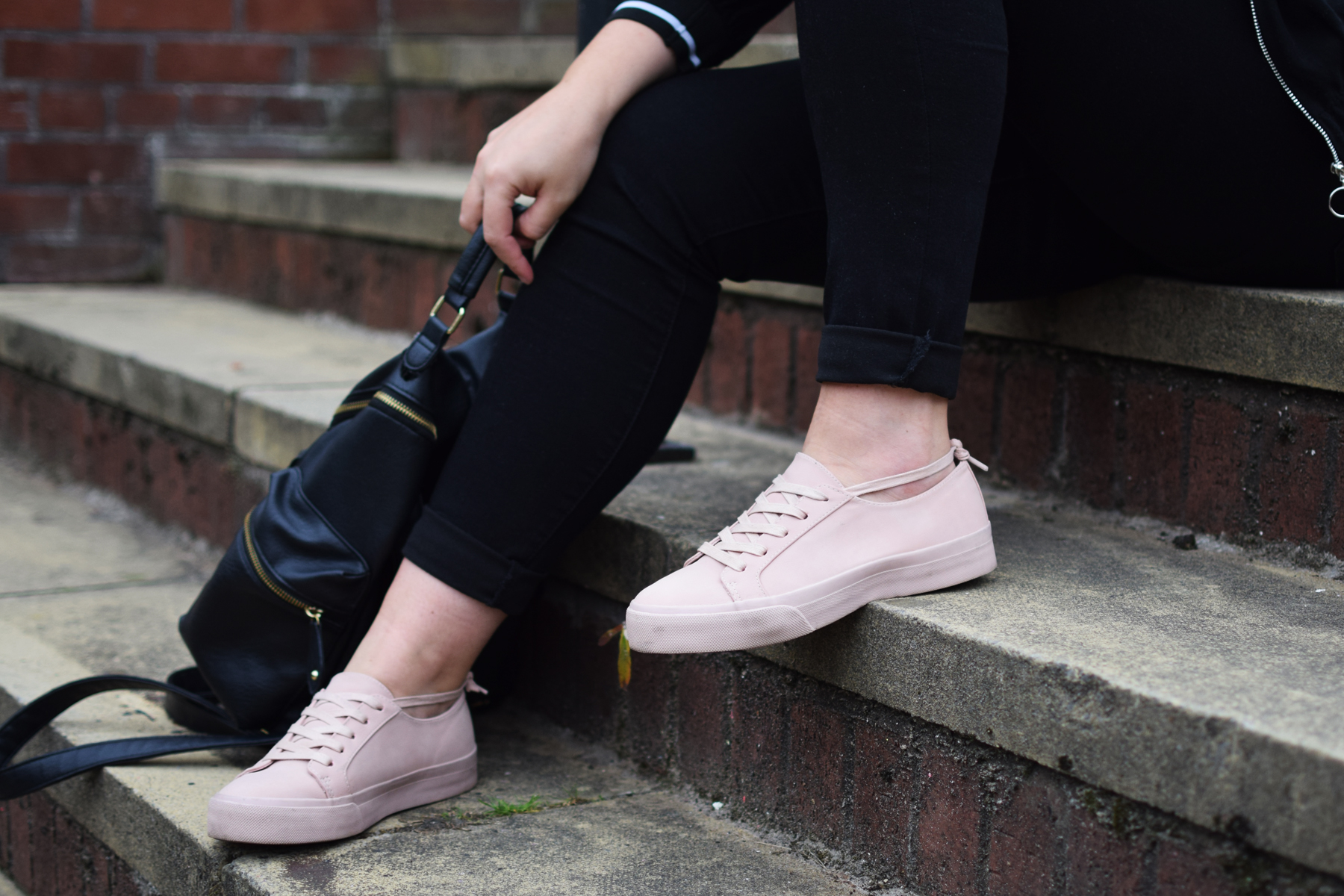 Blush Pink Trainers