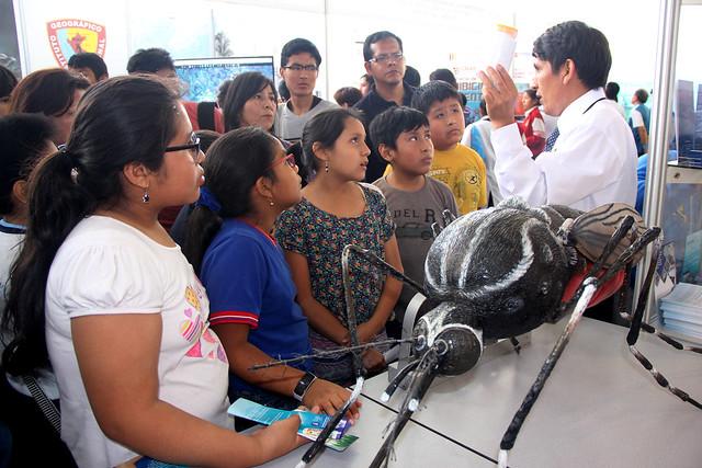 """INS participa en Feria """"Perú con Ciencia"""""""