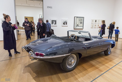 Jaguar's E-Type MOMA NYC 01 | by Eva Blue