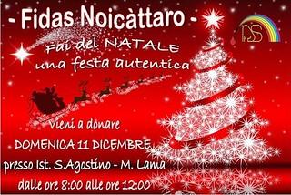 Noicattaro. Manifesto Fidas front
