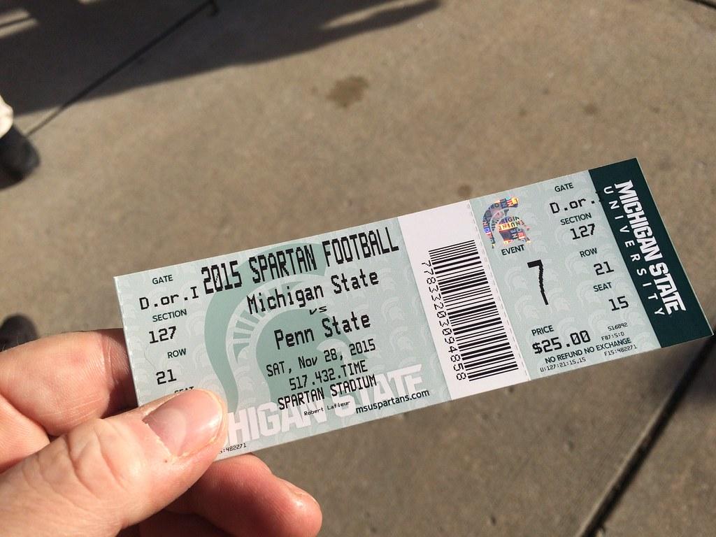 Season football tickets