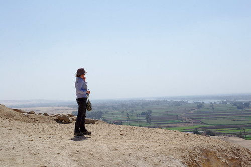 Lucia Looking Out From Beni Hasan | by plingthepenguin