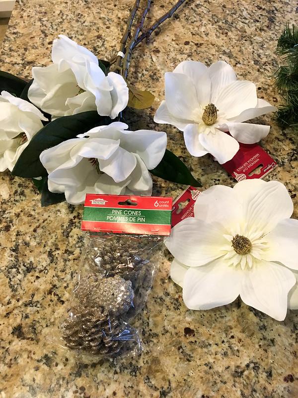 DIY Christmas Wreath Supplies | www.graceinmyspace.com