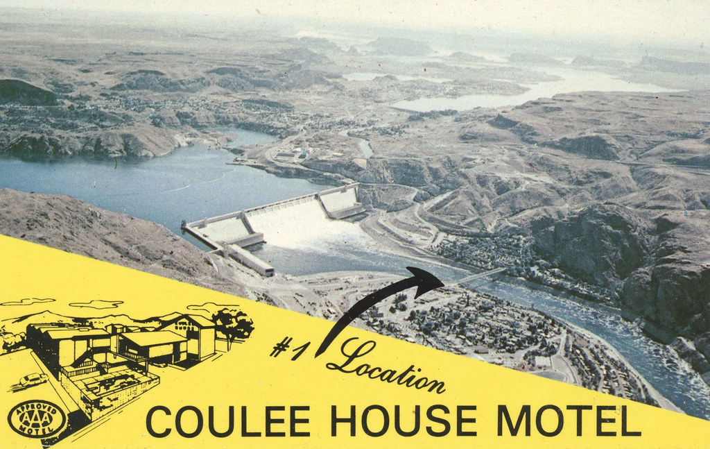 Coulee House Motel - Grand Coulee Dam, Washington
