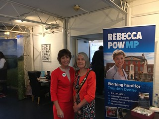 Rebecca Pow MP hosts 'Older Peoples Day Fair' | by Rebecca Pow
