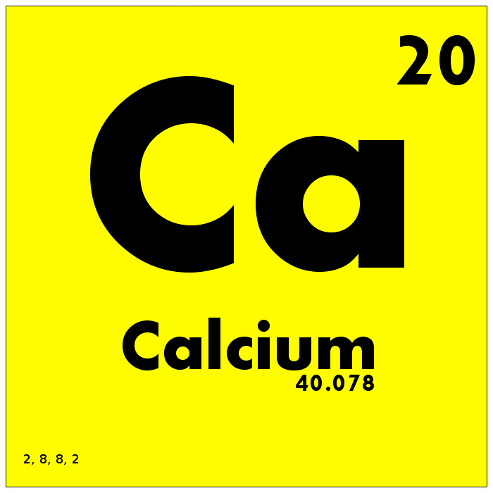 020 Calcium Periodic Table Of Elements Watch Study Guide Flickr