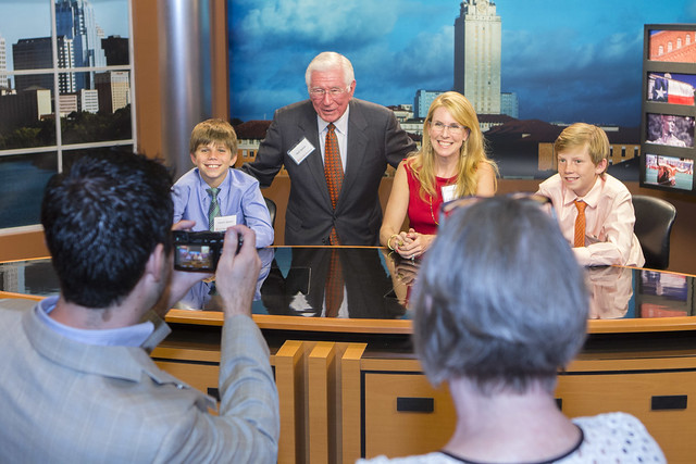 Neal Spelce Broadcast News Studio Dedication Selected