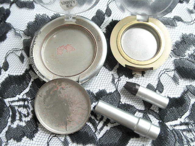 Makeup Empties Eyeshadow  Eyeliner Stila Ulta Milani Urban Decay