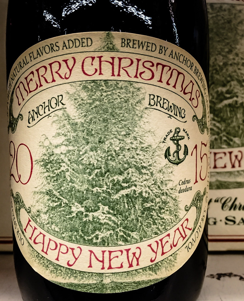 anchor brewing 2015 merry christmas happy new year ale san francisco ca by mbell1975