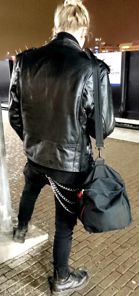 Leather Jacket Guy Leather Satan Flickr