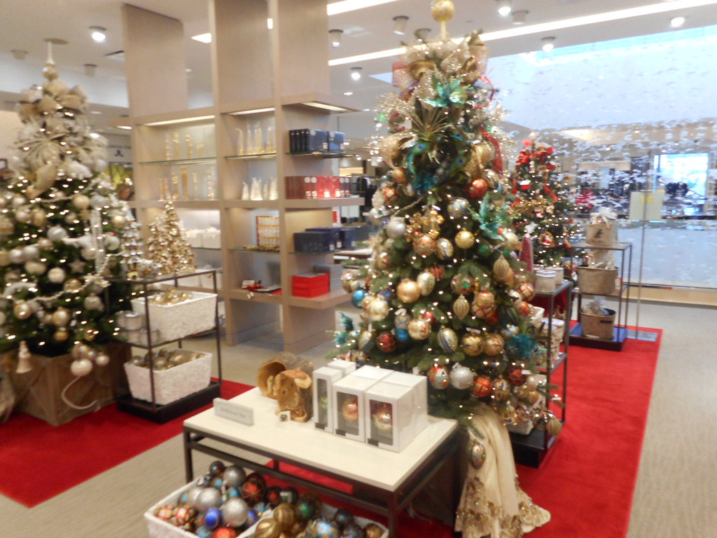 elegant christmas decorations at neiman marcus on level 3 in bellevue wa by patricksmercy - Neiman Marcus Christmas Decor