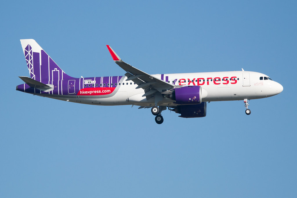 F-WWIJ / B-LCL - Airbus A320-271 NEO - Hong Kong Express -… | Flickr