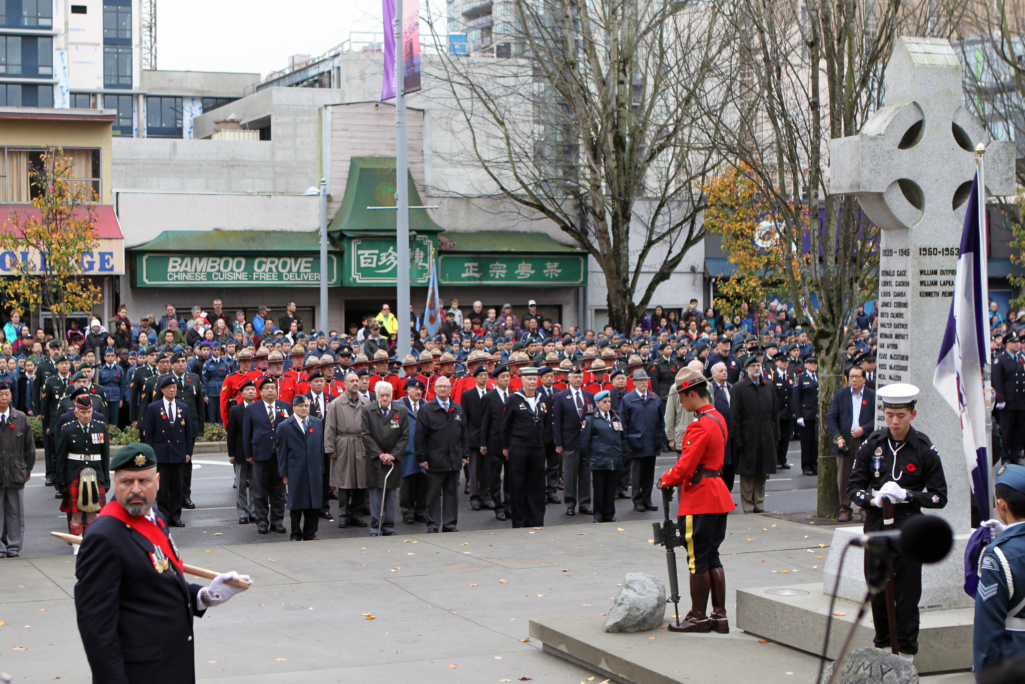 Richmond Area 2016 Remembrance Day Ceremony