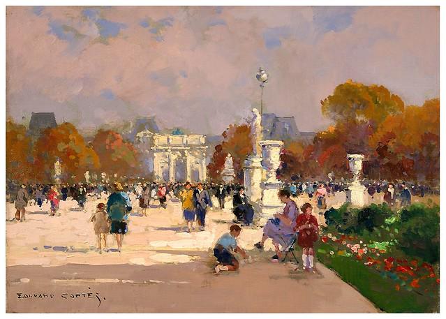 008-Jardin de las Tullerias-Edouard Leon Cortes-rehs galleries