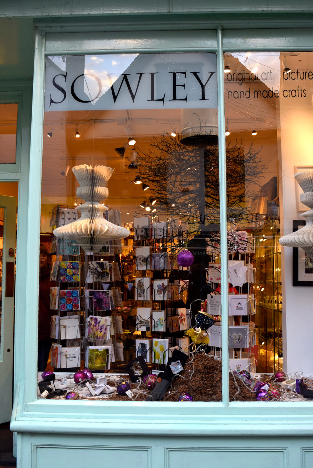 Sowley Christmas Window 2016 | www.rachelphipps.com @rachelphipps