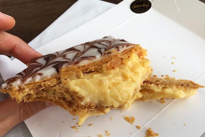 Vanilla slice, Gumnut Patisserie