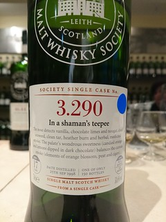 SMWS 3.290 - In a shaman's teepee