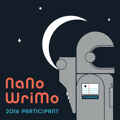 NaNoWriMo 2016 Participant | by tychay