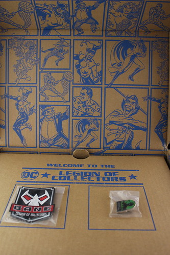 DC Legion of Collectors box