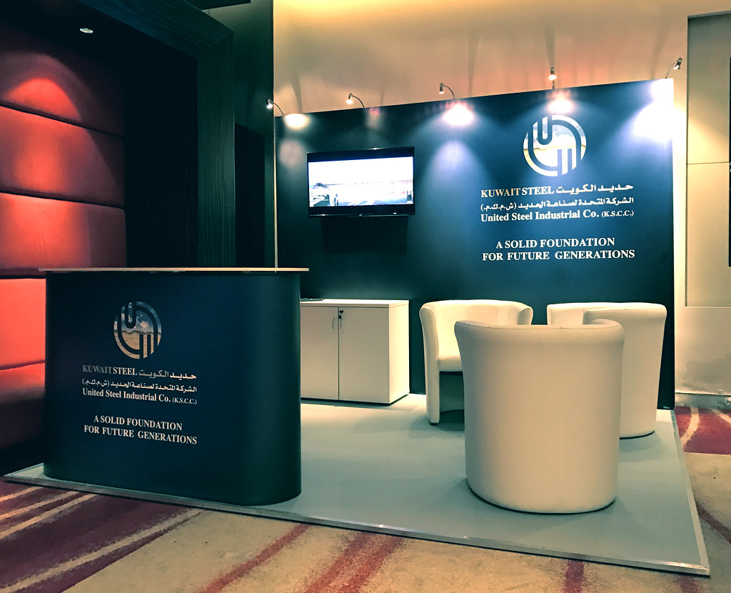 Exhibition Stand Kuwait : Kuwait steel exhibition stand to get your free design pleau2026 flickr