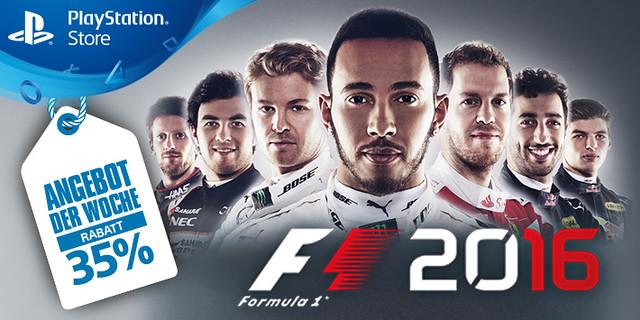 Angebot der Woche - F1 2016