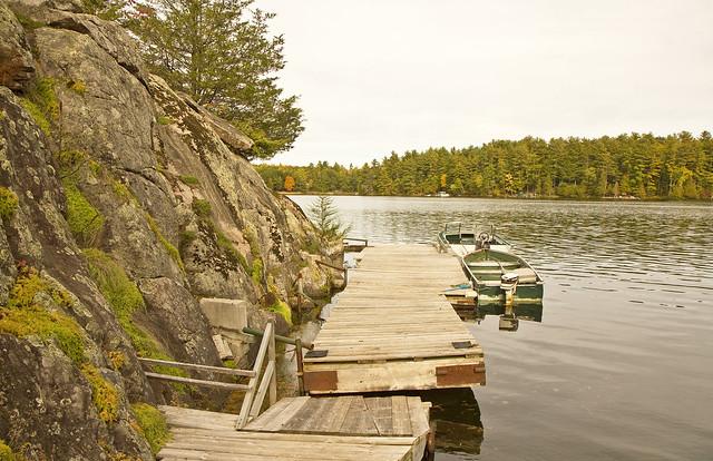 rocky dock