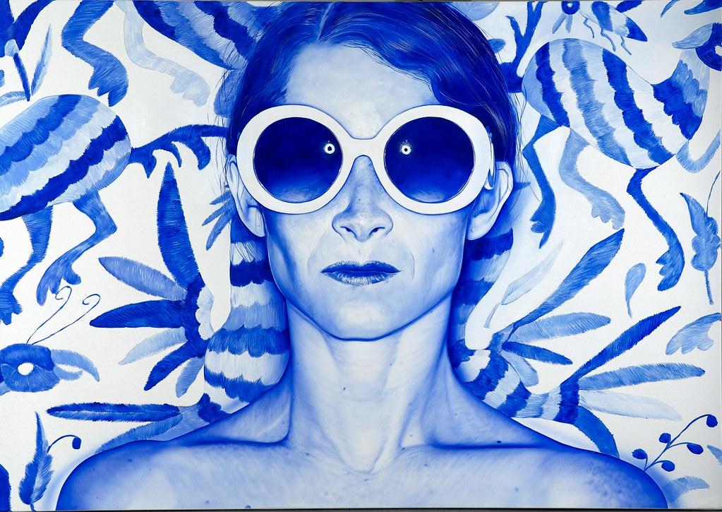 """BlueJungle_68x96""""2016"""