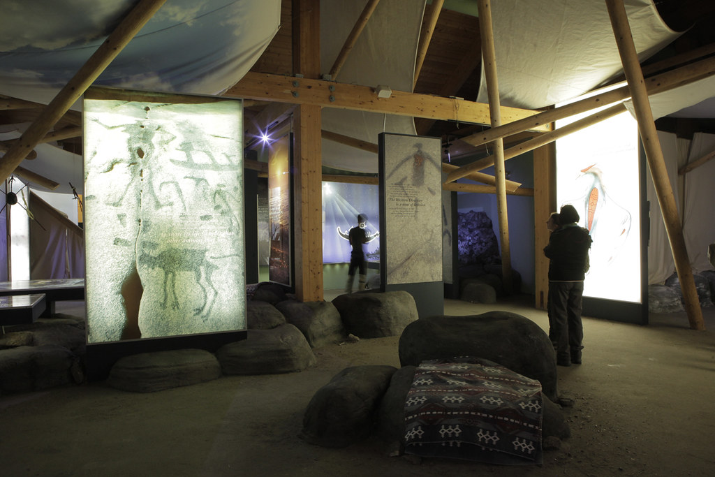 Petroglyphs - Learning Place Display