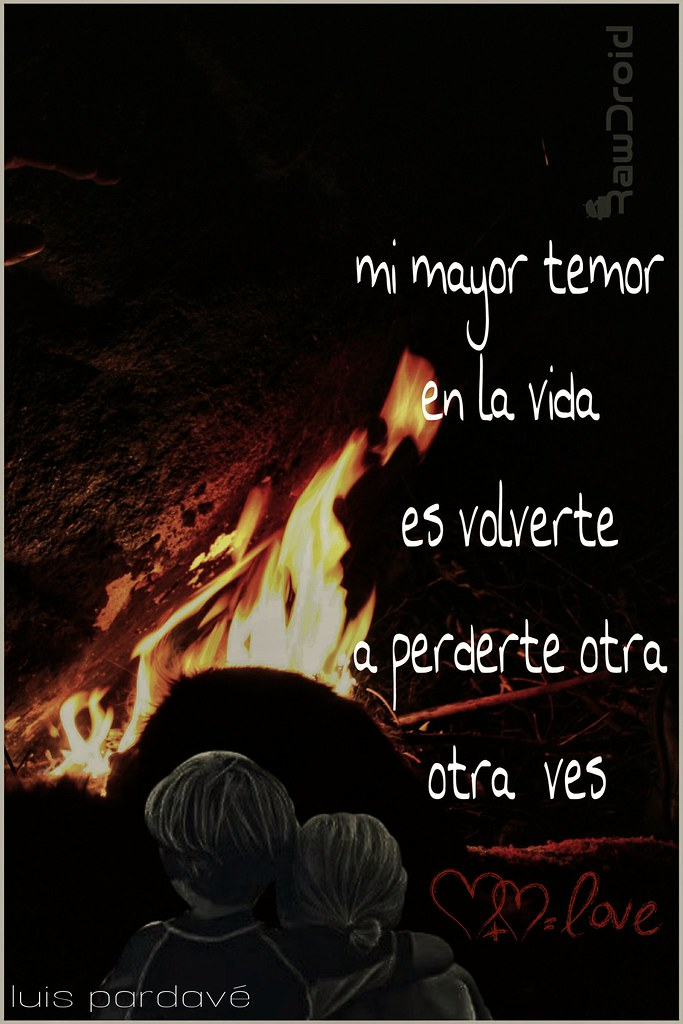 Frases De Amor Una Noche De Fogata En Querococha Flickr