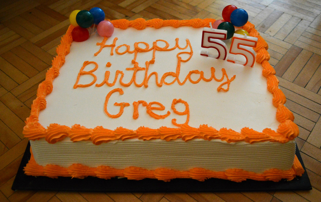 My Birthday Cake Gregs Southern Ontario Catching Up Slowly Flickr
