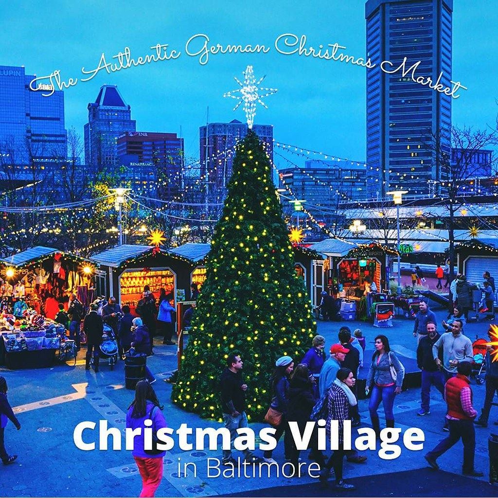 visit our friends at christmas village in baltimore and experience the classic charm of a traditional