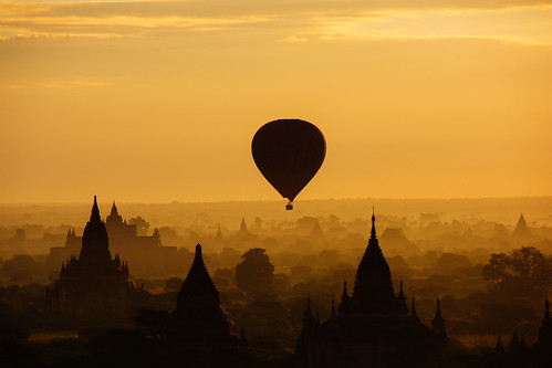 Sunrise at bagan Myanmar