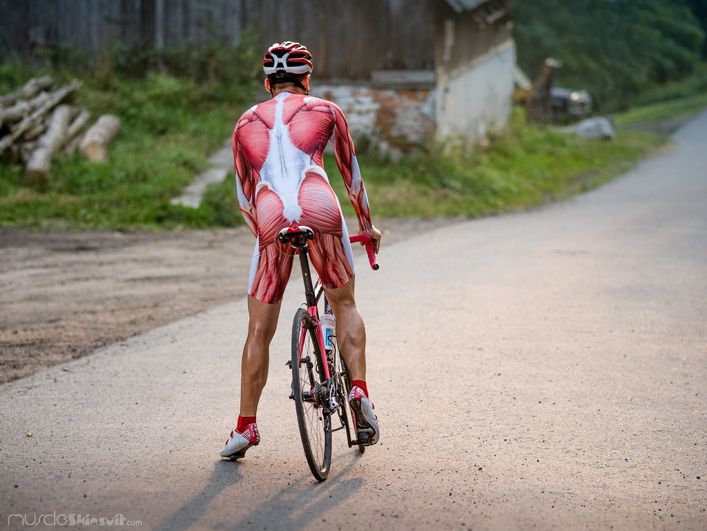 Time Trial Bike And Apparel Muscle Skinsuit Long Sleeve Fo Flickr