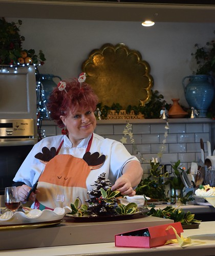 Iconic Pam in full Christmas cheer at Ballymaloe Cookery School. | by The Abundant Kitchen